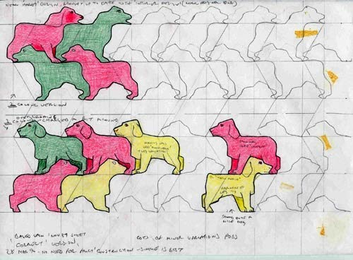 tessellation patterns 2 essay Tessellation tessellation is the process of repeating geometric shapes to form a pattern these patterns do not contain any gaps, or overlaps of the geometric shape.