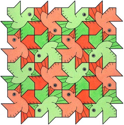 mc escher tessellations